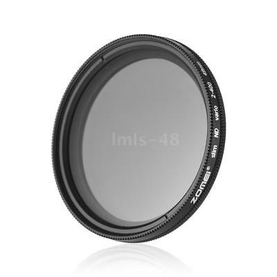 ZOMEI 49mm Ultra Slim Variable Fader ND2-400 Neutral Density ND Filter Z7E3