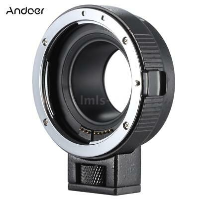 DSLR Camera Lens Adapter Ring Mount for Canon EF/EF-S to EOS M EF-M M2 M3 M10