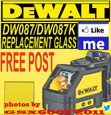 Dewalt Dw087/dw087K Replacement Glass/screen/laser Level/repair  Fast Free Post