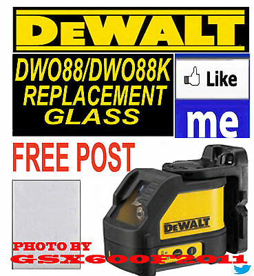 Dewalt Dw088/dw088K Replacement Glass/screen/laser Level Get Tomorrow See Cutoff