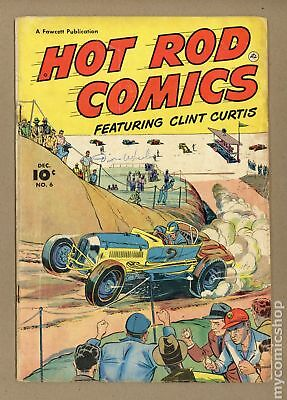 Hot Rod Comics (U.S. Edition) #6 1952 GD 2.0