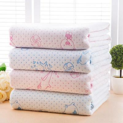 Newborn Infant Washable Waterproof Bed Diapering Changing Mat Breathable Pad LC