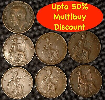Farthing George V 1926 - 1936  Choose Your Date