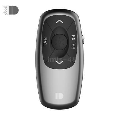 Wireless Presenter Pointer 2.4GHz PPT Clicker Remote Rechargeable P1R8