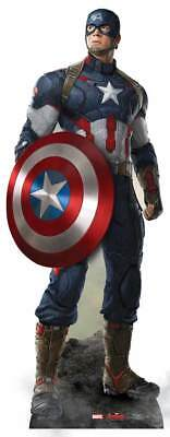 Avengers Movie Age of Ultron Pappaufsteller (Stand Up) - Captain America ( 190 c