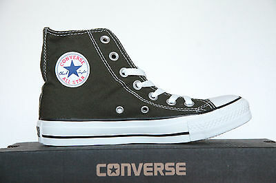 Neu All Star Converse Chucks X Hi Knee Leder gefüttert