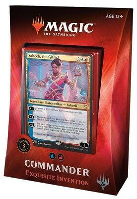 MTG - Magic: the Gathering Commander 2018 Deck : Exquisite Inventions :: New & S