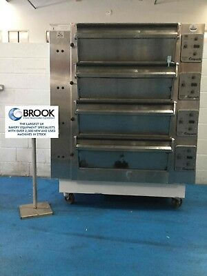 Tom Chandley 8 Tray 4 Deck High Crown Oven -Stock No 0072626 - Bakery Equipment