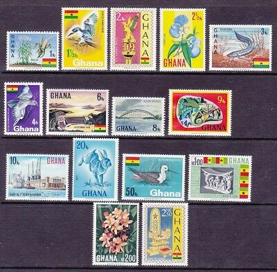 Ghana 286-300 MNH 1967 Full Pictorial 15 Stamp Set Very Fine