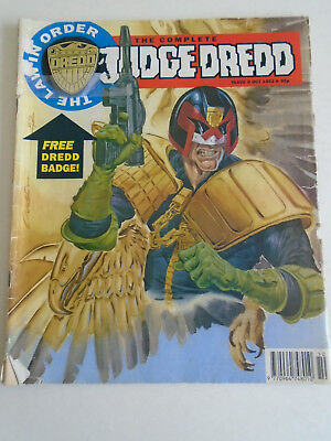 The Complete Judge Dredd Issue 9 October 1992