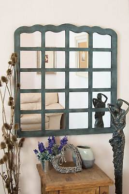 3ft3 x 3ft 99cm x 91cm New Multi Panel French Farmhouse Style Wall Mirror