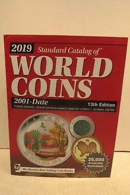 2019 Krause Standard Catalog of World Coins 2001 - Date 13th Edition