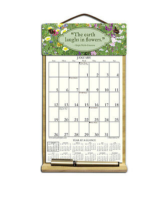 The Earth Laughs Calendar Filled With 2019 & Includes An Order Form For 2020.