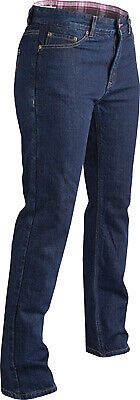 Fly Street Women's Fortress Motorccycle Jeans / Indigo - All Sizes