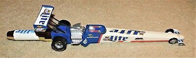 Rare 1997 LITE BEER Dragster TAP HANDLE (MINT IN BAG) Don THE SNAKE Prudhomme