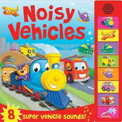 Noisy Vehicles (Sound Boards), , Excellent