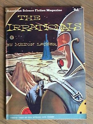 1950's Australian pamphlet American SF Series - The Irrationals - Milton Lesser