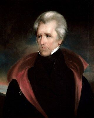 President Andrew Jackson U.S. USA 7th President 8 x 10 Photo Portrait Picture