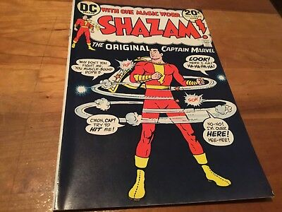 Shazam # 5 1973 Dc Origin The Original Capt Marvel Vf/nm 9.0