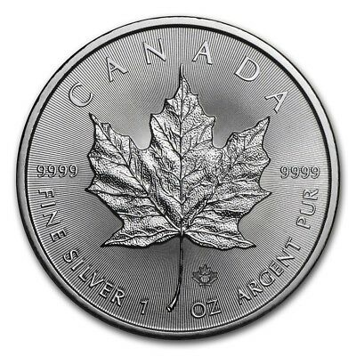 CANADA 5 Dollars Argent 1 Once Maple Leaf 2018 - PROMO