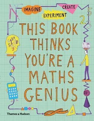 NEW This Book Thinks You're a Maths Genius By Mike Goldsmith Paperback