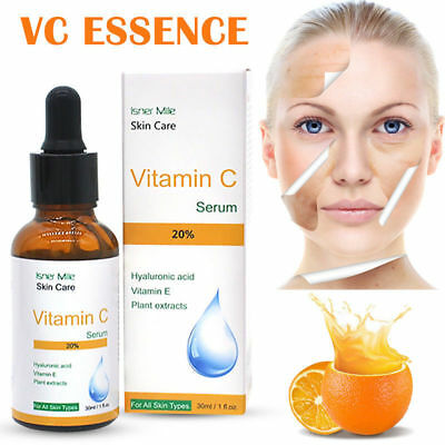 Pure Vitamin C Hyaluronic Acid Serum 20% for Face BEST Anti Aging 30 mL