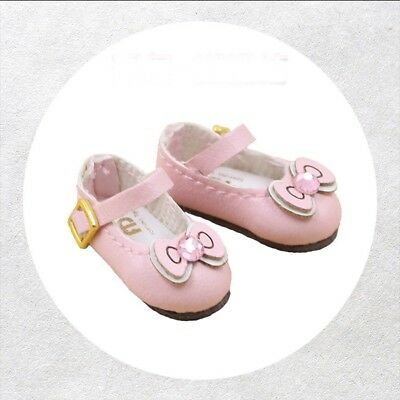 """[PF] Pink Bow Boots Shoes For 12"""" Blythe Neo Doll Shoes"""