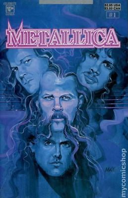 Metallica (Celebrity Comics) #1 1992 FN+ 6.5 Stock Image