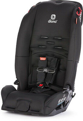 Diono Radian 3 R All-in-One Convertible + Booster Child Safety Car Seat Black