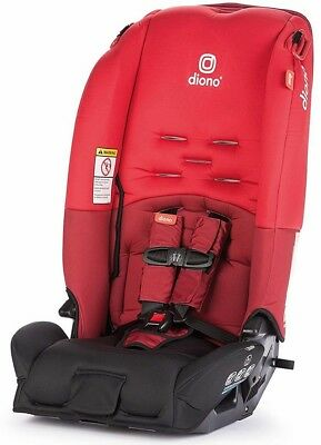 Diono Radian 3 R All-in-One Convertible + Booster Child Safety Car Seat Red 2018