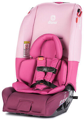 Diono Radian 3 RX All-in-One Convertible + Booster Child Safety Car Seat Pink