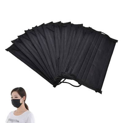 50/100pcs Disposable Mouth Flu Mask Fr Surgical Face Salon Dust Ear Loop Medical