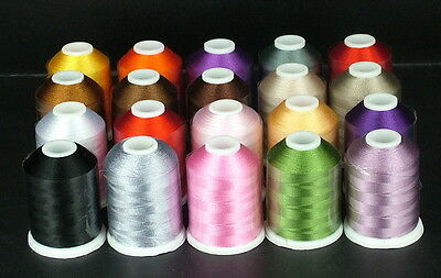 Fil a broder machine broderie 100% Rayonne embroidery thread