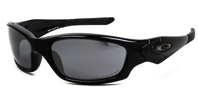 New Oakley Straight Jacket 2.0 - Polished Black / Black Iridium Polarized 12-935