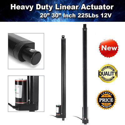 30'' Linear Actuator Electric Motor 900N Max Load DC12V Solar Tracker Door Open
