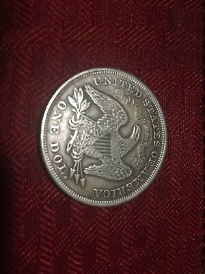 Seated Liberty 1859 Collectible Money Coin