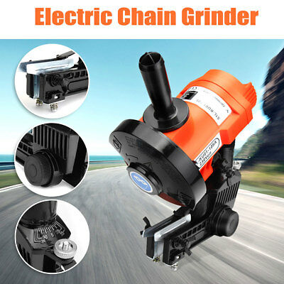 Electric Chain Saw Sharpener 5000RPM Bench Wall Mount Grinder Wheel Tool