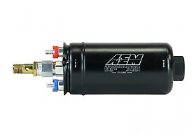 AEM 400LPH Metric Inline High Flow Fuel Pump - 50-1009