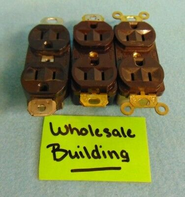Hubbell Receptacle, Wc-596, 15 A, 125 V, **Lot Of 3**
