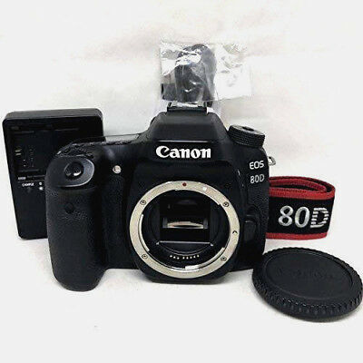 Canon Eos 80d Digital SLR Camera Corpo (Nero)