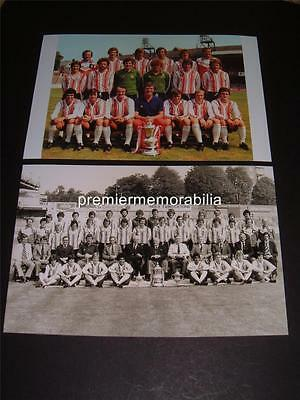 Southampton Fc 1976 Fa Cup Final Winners Bobby Stokes Peter Osgood Photographs