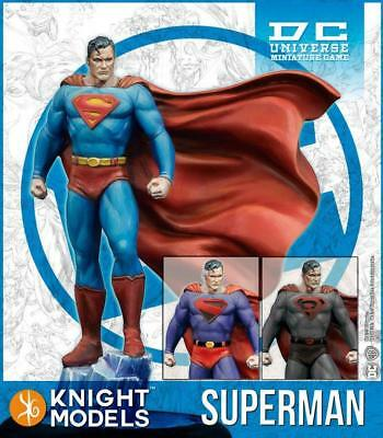 Knight Models DC Universe Figure Superman Pack MINT