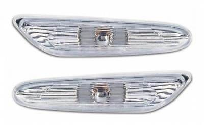 For BMW 5 Series E61 9/2003 - 2010 Clear Side Repeaters Indicators 1 Pair