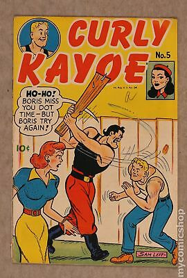 Curly Kayoe Comics #5 1946 VG- 3.5