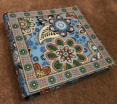 Vera Bradley Photo Album in Bali Blue - Made for Barnes & Noble - Picture Book