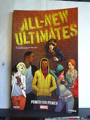 GRAPHIC NOVEL: ALL-NEW ULTIMATES - POWER FOR POWER   Paperback 2014 1st print