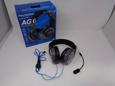 PDP PS4 AFTERGLOW AG 6 Wired Gaming Headset 5691eb0cdae9e