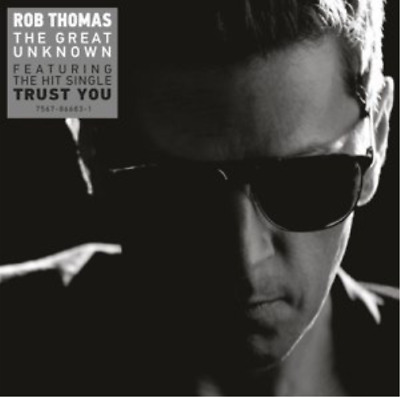 Rob Thomas-Great Unknown (UK IMPORT) CD NEW