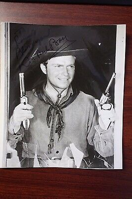 """Donald Don Red Barry """"red Ryder"""" / """"alvarez Kelly"""" Actor Signed Photo Autograph"""