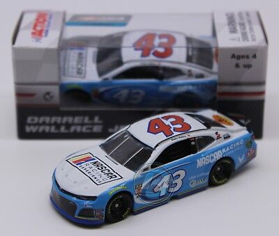 2018 DARRELL WALLACE JR BUBBA #43 NASCAR Racing Experience 1:64 Diecast In Stock